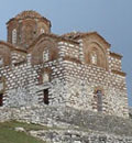 Berat castle, St Triadha Church